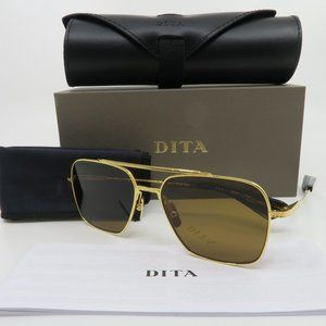 Dita FLIGHT-SEVEN DTS111-57-06 Titanium Brown